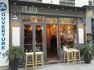 L'entrée de Filakia