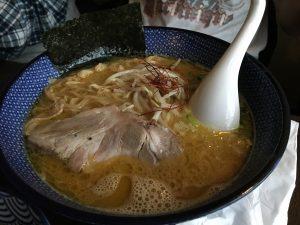 Ramen au bouillon épais Niboshi Paitan Ramen